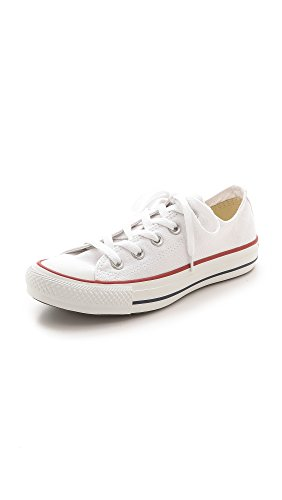 Converse Unisex-Erwachsene Chuck Taylor All Star-Ox Low-Top Sneakers, Weiß (Optical White), 37 EU