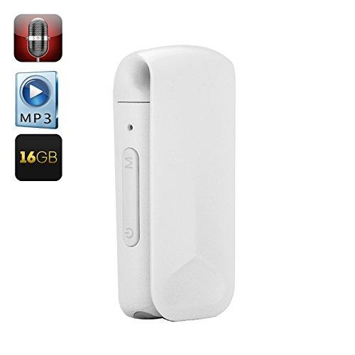 Shopinnov–Micro spia clip Bianco 16GB