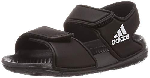 adidas AltaSwim I, Slide Sandal Unisex-Baby - Noir - Taille 25