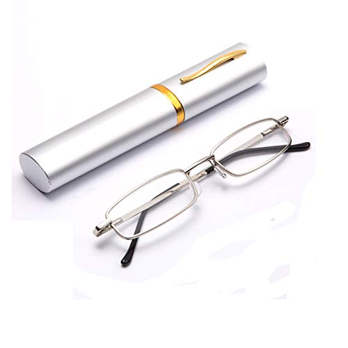 THG Eye Care Unisex Lesebrille Lesehilfe reading glasses mit Etui +1.50