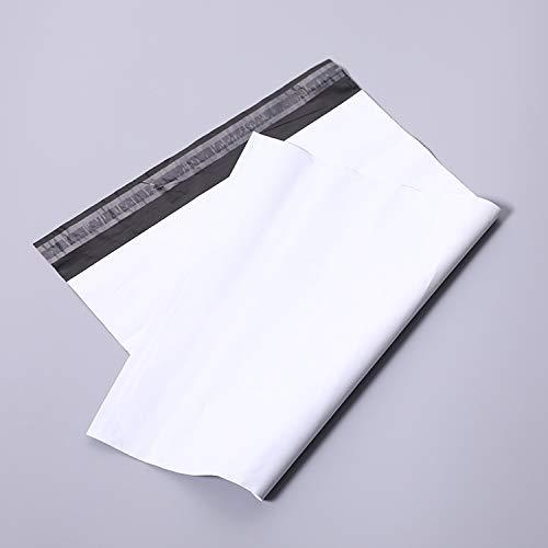 KLH - 100 bolsas de envío de plástico para sobres postales