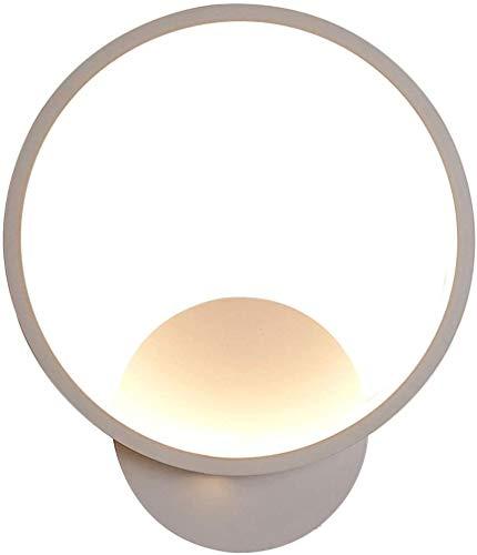 Applique a LED per internilampada da Parete in Alluminio con Rotazione Verso l'Alto e Verso Il Basso Regolabile per Camera da lettocucinacorridoiocomodinobianco caldo12 W.