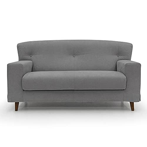 Mary - Sofá de 3 plazas y 2 plazas de tela