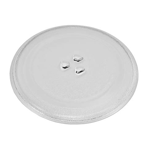 Microwave Glass Turntable Plate 9.5' or 245mm Designed to Fit Several Models