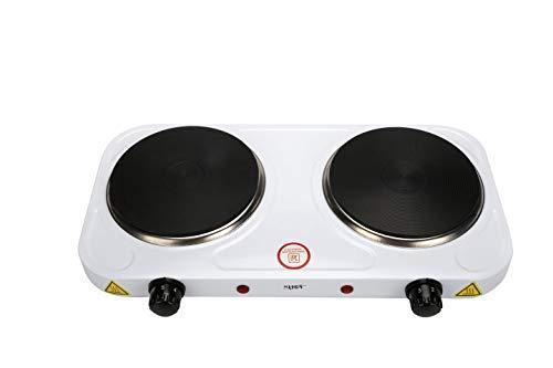 Shov Doppelkochplatte Elektroherd Ofen Elektro Kochplatte Camping Kochfeld 2000W Duo