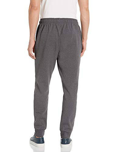 Men's Champion Powerblend Retro Jogger Fleece Pant, Marine Heather, petite