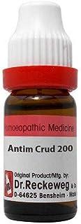 Dr. Reckeweg Antimonium Crudum 200 CH (11ml) By Natural & Herbal
