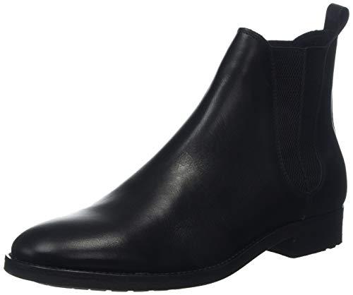 Bertie Cage, Bottes Chelsea Homme, Noir (Black Leather Black Leather), 40.5 EU