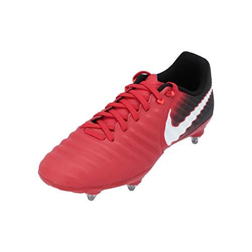 Nike Tiempo Ligera IV SG, Zapatillas de Fútbol Hombre, Multicolor (University Redwhiteblack), 42 EU