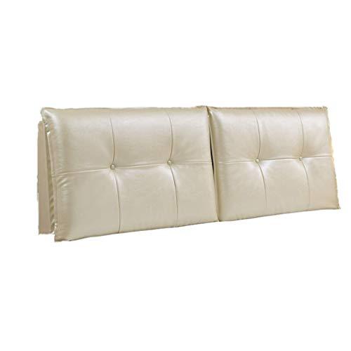 Almohadas de lectura Almohadas de cama con almohada Soporte trasero de la almohada Cabecera Cabecera Cojín de la cama Cojín de la cama Caja suave Sofá Suministros de almohada Cintura Lavable, con cabe
