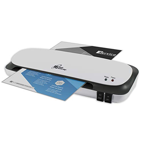 """Royal Sovereign 9"""" Desktop Laminating Machine With Jam Release Lever (CL-923),White"""