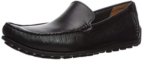 Clarks Men's Hamilton Free Driving Style Loafer, Black Leather, 95 M US