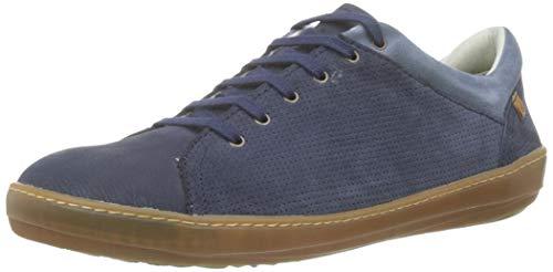 El Naturalista Nf64 Multi Leather, Scarpe Stringate Brouge Uomo, BLU (Ocean Ocean), 43 EU