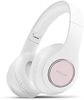 Pollini Bluetooth V5.0 Over Ear Headphones with Deep Bass