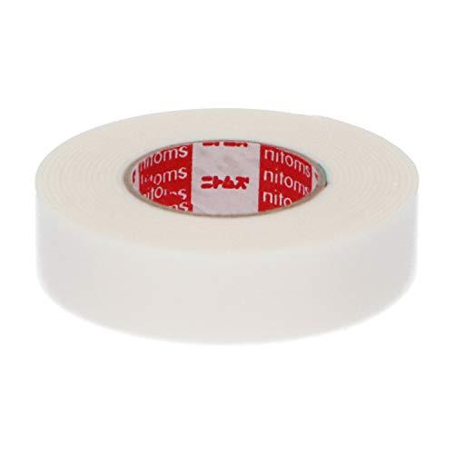 ニトムズ はがせる両面テープ くりかえし貼れる 簡単 のり残りしない 屋内 窓 ガラス 金属 幅15mm×長さ2m×厚さ1.0mm 1巻入 T3630