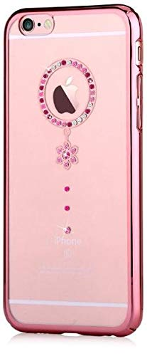 Funda Swarovski para iPhone 6/6S Crystal Camelia Red RG