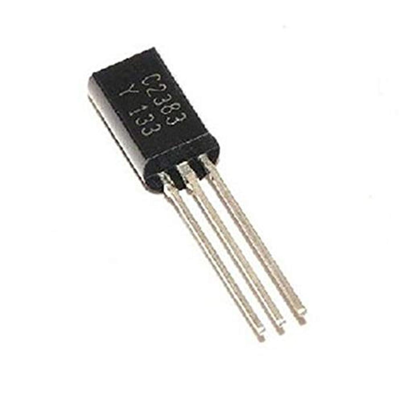 Gimax 100pcs 2SC2383 C2383-Y C2383 TO-92 in-line Triode Transistor