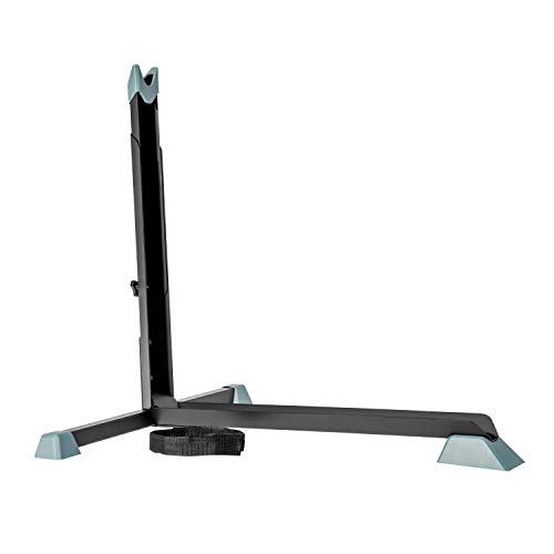 Bike Nook Bicycle Stand, Portable and Stationary Space-Saving Rack with Adjustable Height, for...