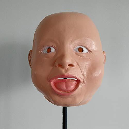 SAILORMJY Masque D'halloween, Halloween Cosplay Costume Masque Latex Masque Masque Crossdresser Transgenre Masque De Partie Pour Femme