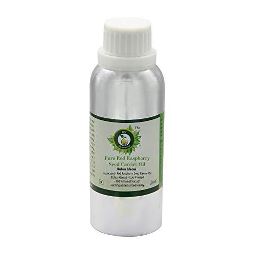 Aceite de semilla de frambuesa roja   Rubus Idaeus   Aceite de semilla de frambuesa rojo puro   Sin refinar   para la cara   para la piel   100% puro natural   prensado en frío por R V Essential