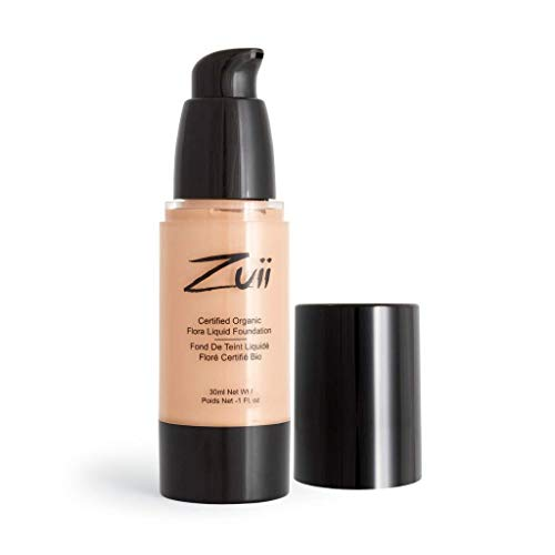 Zuii Organic - Fond de teint crème bio floral naturel moyen