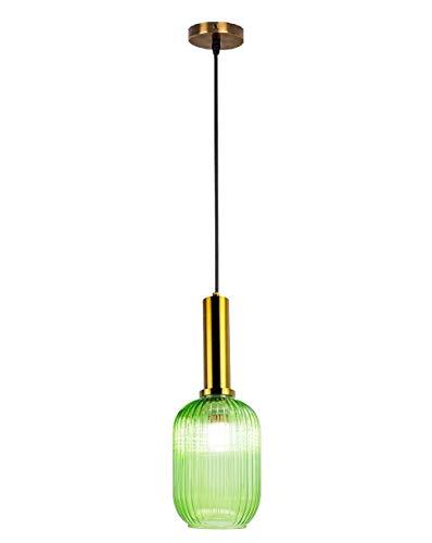 café grüne lampe