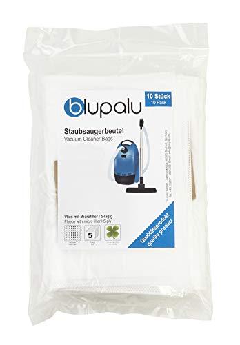blupalu I Staubsaugerbeutel für Staubsauger Siemens VSQ5X1230 Q5.0 I 10 Stück I mit Feinstaubfilter