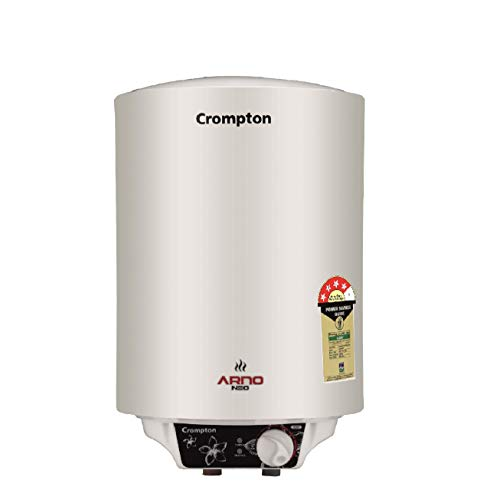 Crompton Arno Neo ASWH-2615 15LTR(2KW) 4 Star-Rated Storage Water Heater (White)