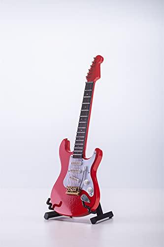 ALANO Adorno de guitarra eléctrica en miniatura, réplica en miniatura, instrumento musical,...