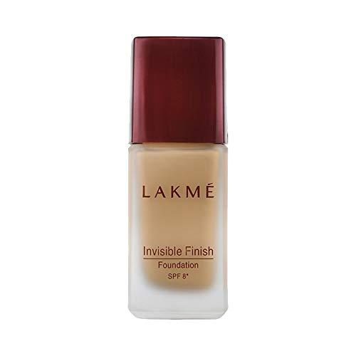 Lakme Invisible Finish SPF 8 Foundation, Shade 02, 25ml