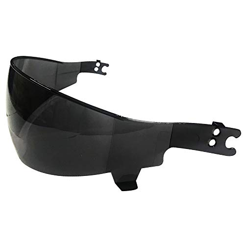Black Tinted Visor for ILM Half Helmet Motorcycle Open Face Sun Visor Quick Release Buckle DOT Approved Cycling Motocross Suits Men Women