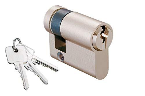 Schließzylinder für gleichschließendes SET/Längen frei kombinierbar Halbzylinder A:30mm B:10
