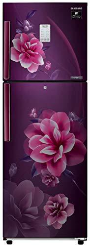 Samsung 253 L 3 Star Inverter Frost-Free Double Door Refrigerator (RT28T3953CR/HL, Camellia Purple, Convertible)