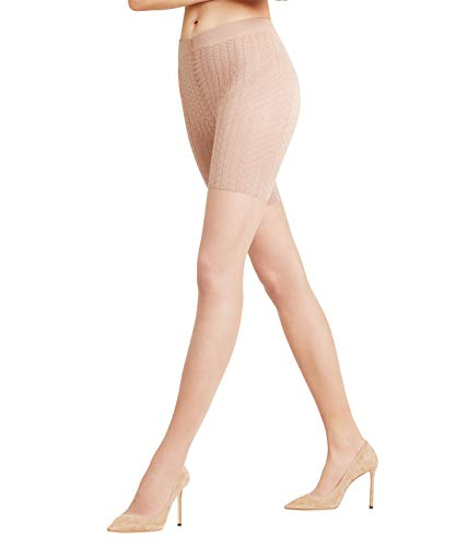 FALKE Damen Strumpfhosen Cellulite Control 20 Denier - Transparente, Matt, 1 Stück, Beige (Powder 4069), Größe: XL