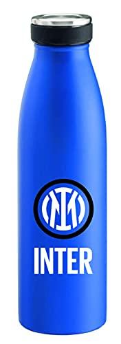 Inter I M New Logo Bottle, Borraccia Unisex Adulto, Blue, White
