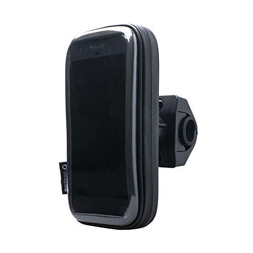 Interphone - Xiaomi Pocophone F1 Motorhouder Unicase Telefoonhouder Fiets en Motor Stuur Zwart