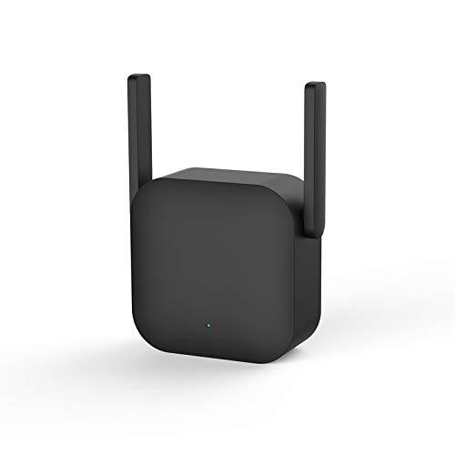 YHML Repetidor Mejorado de señal de WiFi, versión Profesional del Amplificador de WiFi, Extensor de WiFi, 2 Antenas externas, 300Mbps 802.11N, Adecuado para la Cobertura de WiFi de Toda la Familia