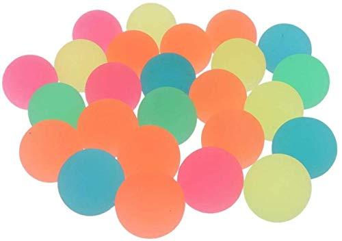 hsj LF- Vollgummi Bouncy Ball Flummi Kinderspielzeug (100 Stück) Lernen