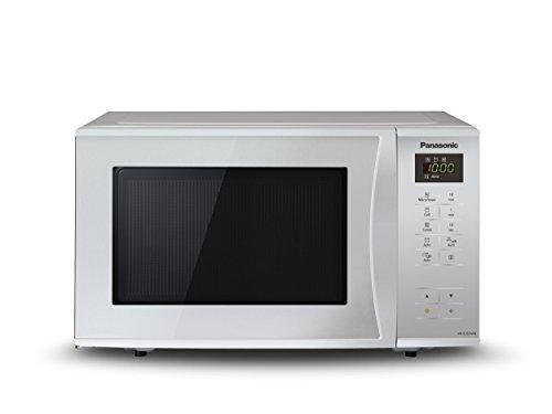 Panasonic NN-K365MMEPG Forno a Microonde Combinato Grill, 23 Litri, Potenza Micro 800 W a 5 Livelli, Potenza Grill 1000W a 2 Livelli, Argento