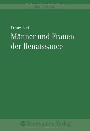 Männer und Frauen der Renaissance