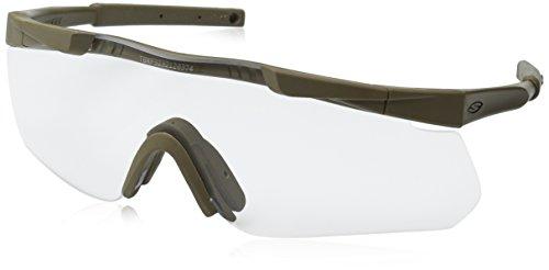Smith Optics Elite Aegis Arc Asian Fit Eyeshields, Clear/Gray, Tan 499
