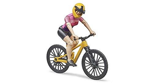 Bruder 63111 - Bworld Mountainbike mit Radfahrerin