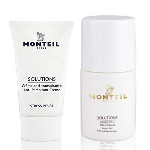 Monteil Solutions Deo Set Anti-Perspirant Creme + Roll-On