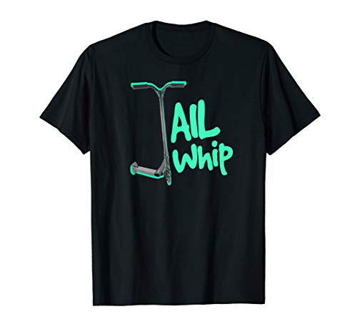 Pro Scooter Tailwhip Top For Boys & Men, Turquoise Scooter T-Shirt