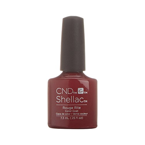 CND Shellac Vernis à Ongles Rouge Rite