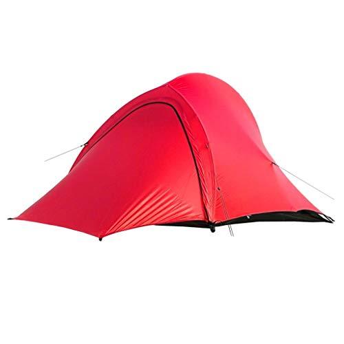 SSG Home Utilisation Multiple Sports de Plein air Tente de Protection Solaire Anti-Pluie extérieure imperméable Coupe-Vent Respirant Camping Camping Pliable Équipement d'extérieur (Color : Red)