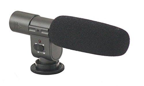 micrófono unidireccional estéreo