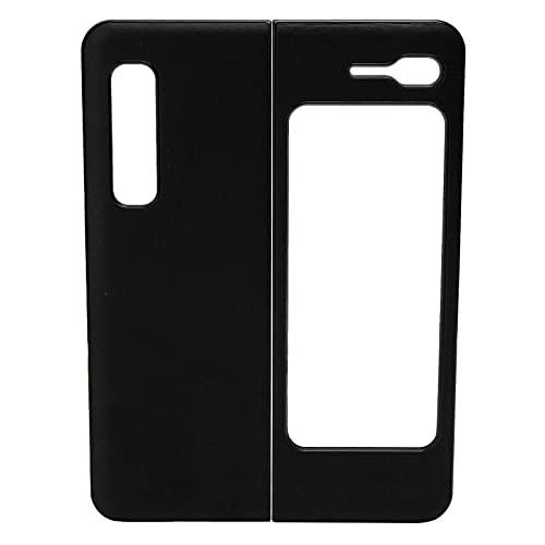 VBESTLIFE Custodie per Smartphone Z Fold 1 / W20, per Samsung Galaxy Z Fold 1 / W20, Cover in Pelle Antiurto per Telefono(Nero)