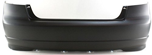 Sherman Replacement Part Compatible with Honda Civic Rear Bumper Cover (Partslink Number HO1100217) (HO1100217V)