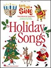 Let's All Sing Holiday Songs - Song Collection for Young Voices